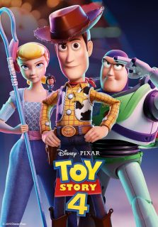 Toy Story 4 DVD/Blu-Ray