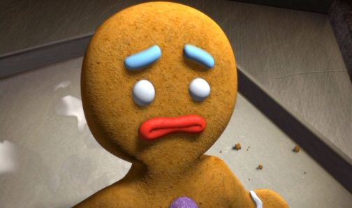 Sad Gingerbreadman